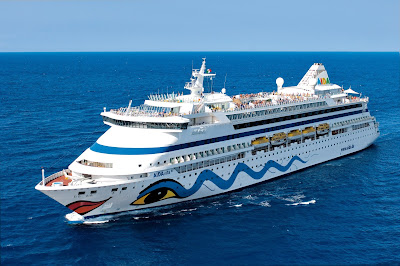 AIDA Cruises - AIDAvita Fresh from a Refit at Germany's Lloyd Werft.