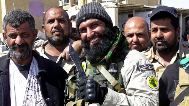 Abu Azrael, el Rambo de la Vida Real que pelea contra ISIS