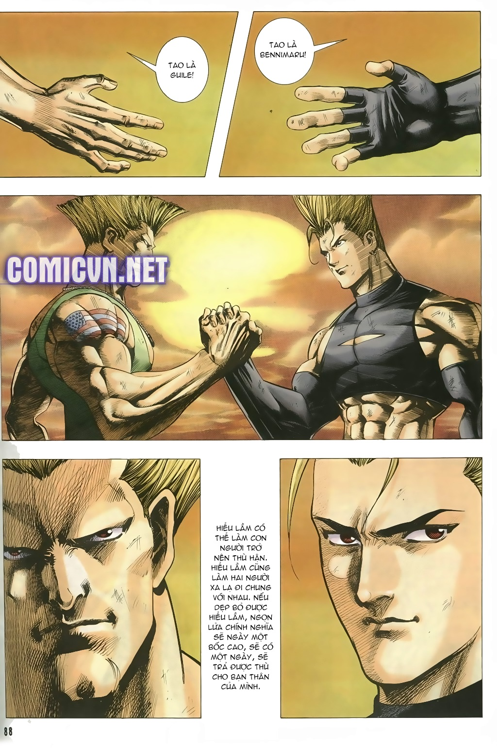 Capcom vs SNK Ngoại truyện chap 5 - Trang 4