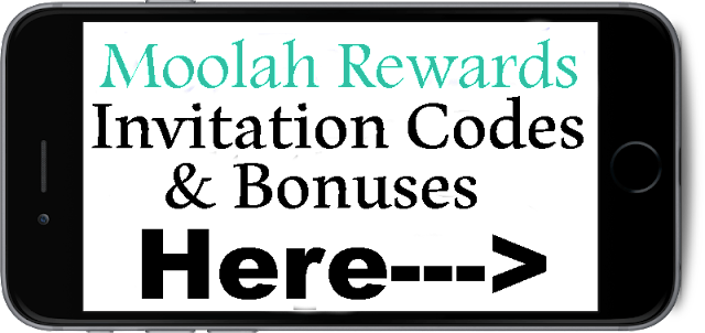 Moolah Rewards Invitation Codes 2016-2017, Moolah Rewards Sign Up Bonus, Moolah Rewards Referral Codes