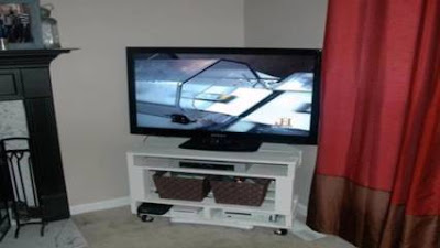 25 Ide Rak Tv dari Kayu Palet Minimalis Cocok Untuk Rumah Idaman