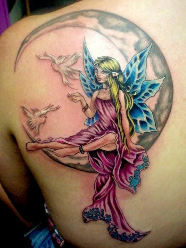 Diseños De Hadas Belagoria La Web De Los Tatuajes
