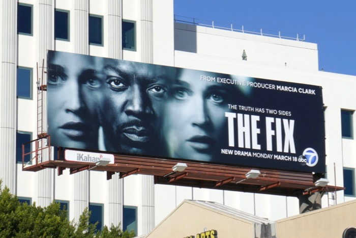 The Fix series premiere billboard