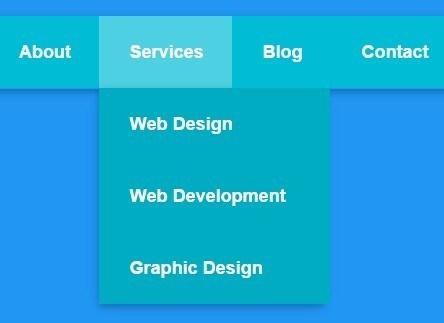 Buat Menu Dropdown Dengan CSS