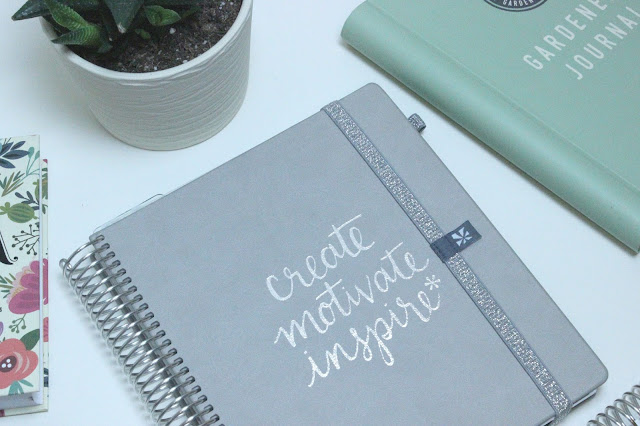 Erin Condren Luxe Collection Metallic Quote Platinum Life Planner Review