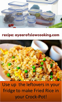 Empty your fridge! This is such a great idea -- use up all the odds and ends from a week of cooking and turn it into yummy fried rice!
