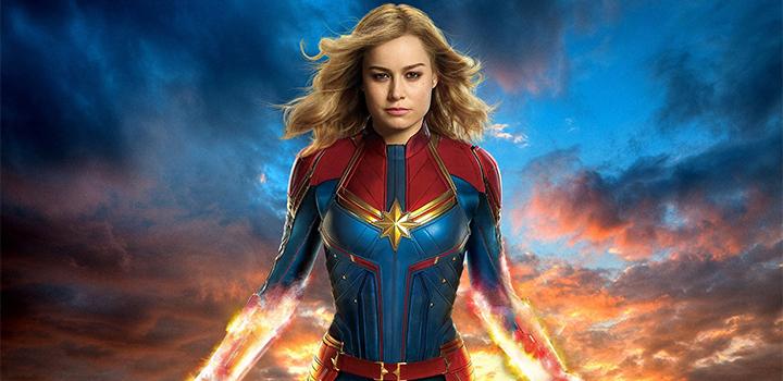 Capitã Marvel Poster IMAX