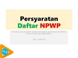 Cara Daftar NPWP Orang Yang Belum Bekerja 2018