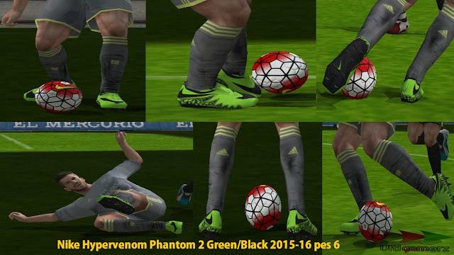2656dd9c9cb ... wholesale nike hypervenom phantom 2 green black boot pes 6 109fb ece78