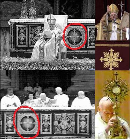 Simbolos Satanicos Del Vaticano