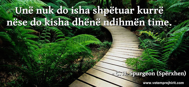 shpetimi, spurgeon shqip, sperxhen, thenie te krishtera,