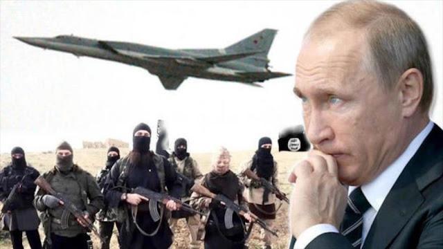 Daesh amenaza a Putin con domésticos ataques terroristas