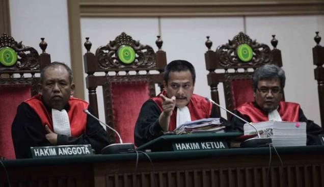 Usai Menghukum Ahok, Tiga Hakim Dapat Promosi