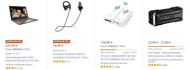 Ofertas Amazon 1 de octubre de 2018
