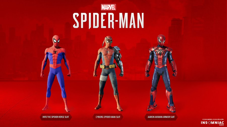 spider man ps4 dlc new suits silver lining