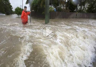 Australia Weather-Townsville Warned as Floodgates Pretension In