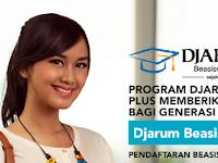 Djarum Beasiswa Plus Tahun 2016/2017