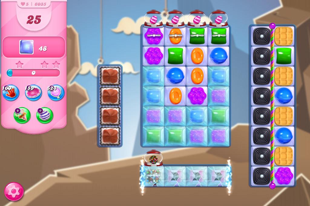Candy Crush Saga level 6035