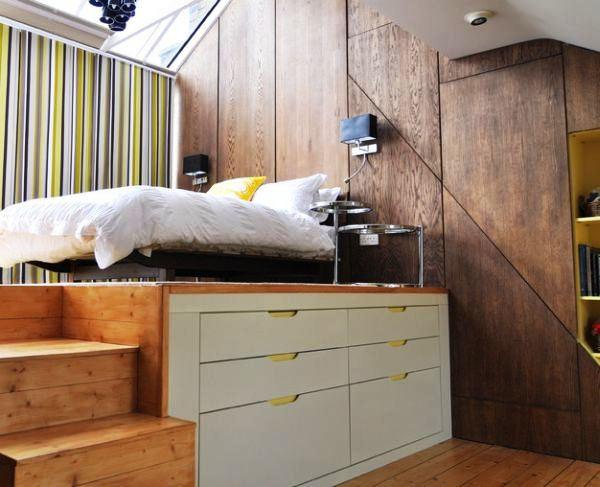 Desain Kamar Tidur Minimalis 3x3 Sederhana