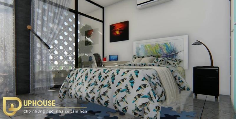 Phòng ngủ quá kín 05