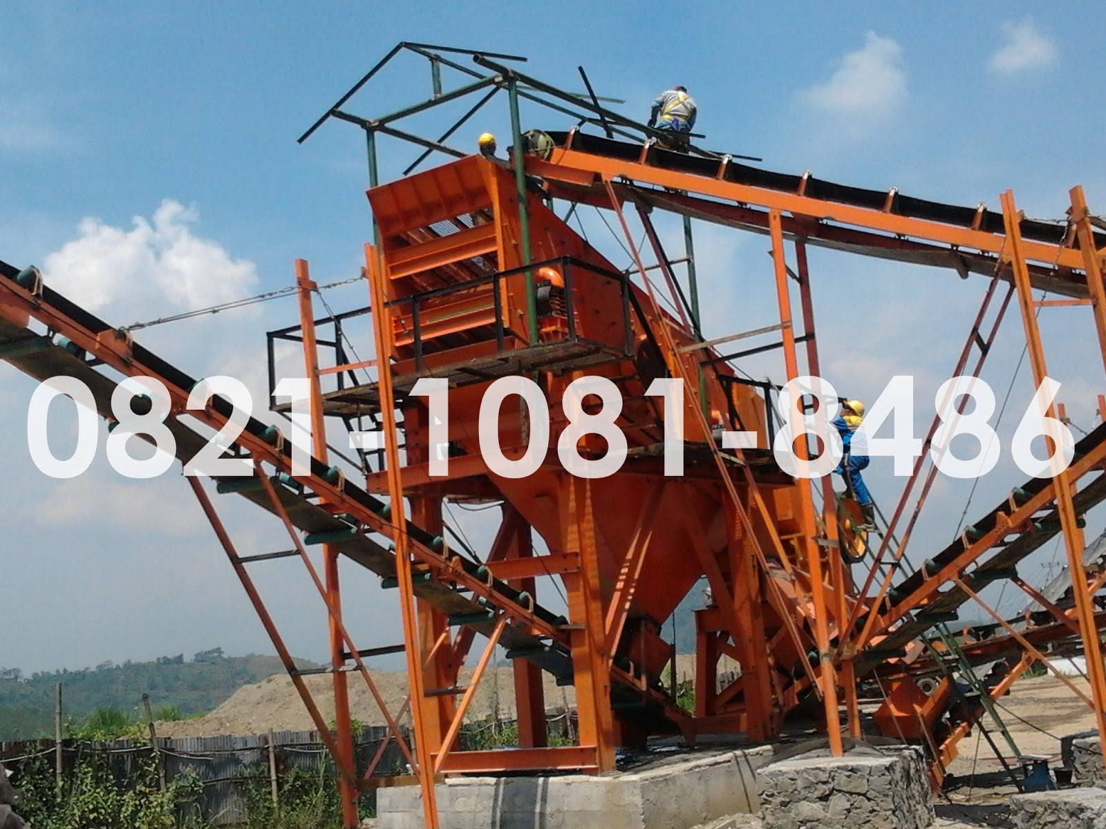 Jual Stone Crusher 70 90 Ton Per Jam Jaw To Hand Pipe Bender Krisbow 3 8 7 8in Kw1500520 Vibrating Screen Yms 514