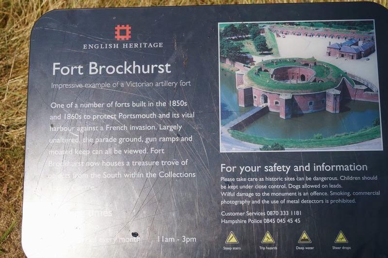 Fort Brockhurst, castillos de Portsmouth, castillos medievales ingleses, fortalezas
