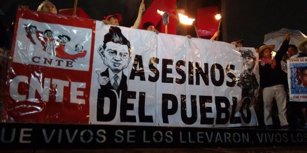La matanza de maestros en Oaxaca, México
