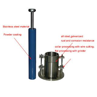 Standard proctor test apparatus