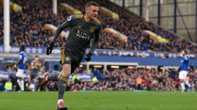Vardy Berikan kemenangan Awal Tahun Leicester