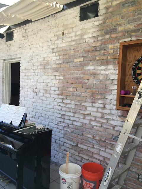 How to lime wash brick