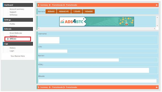 Herramienta Promocion Ads4Btc