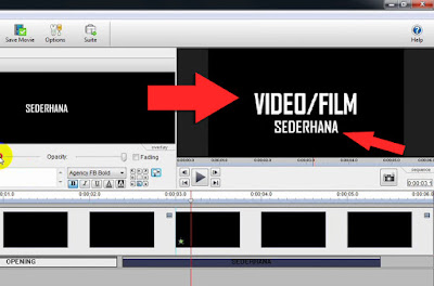Membuat intro video atau pembuka video