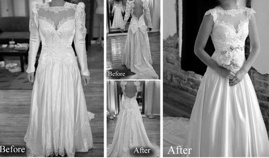ponte el vestido de tu madre en tu boda