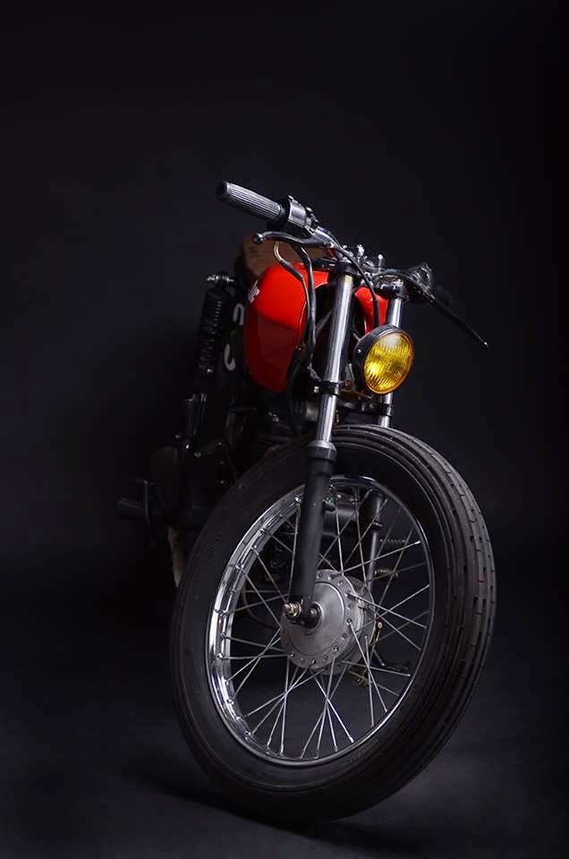 sexta insana cg 125 brat by low budget customs garagem cafe racer. Black Bedroom Furniture Sets. Home Design Ideas