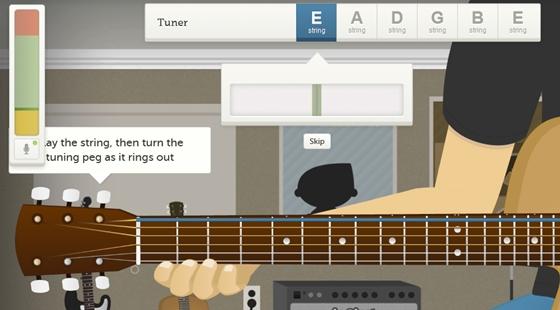 Cách lên dây guitar đơn giản không cần dùng đến tuner