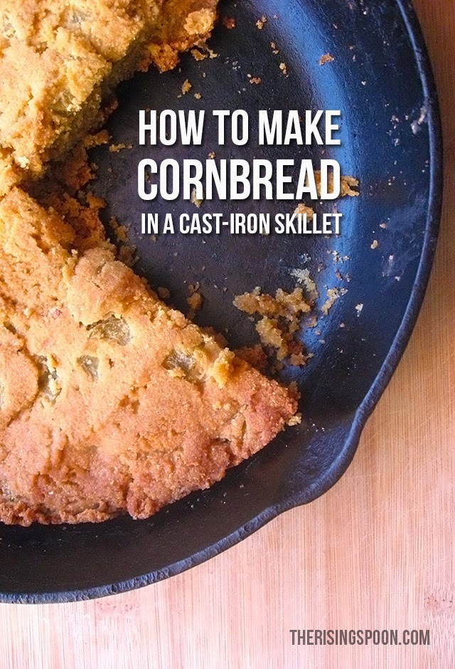 How to Make Homemade Cornbread with  Masa Harina