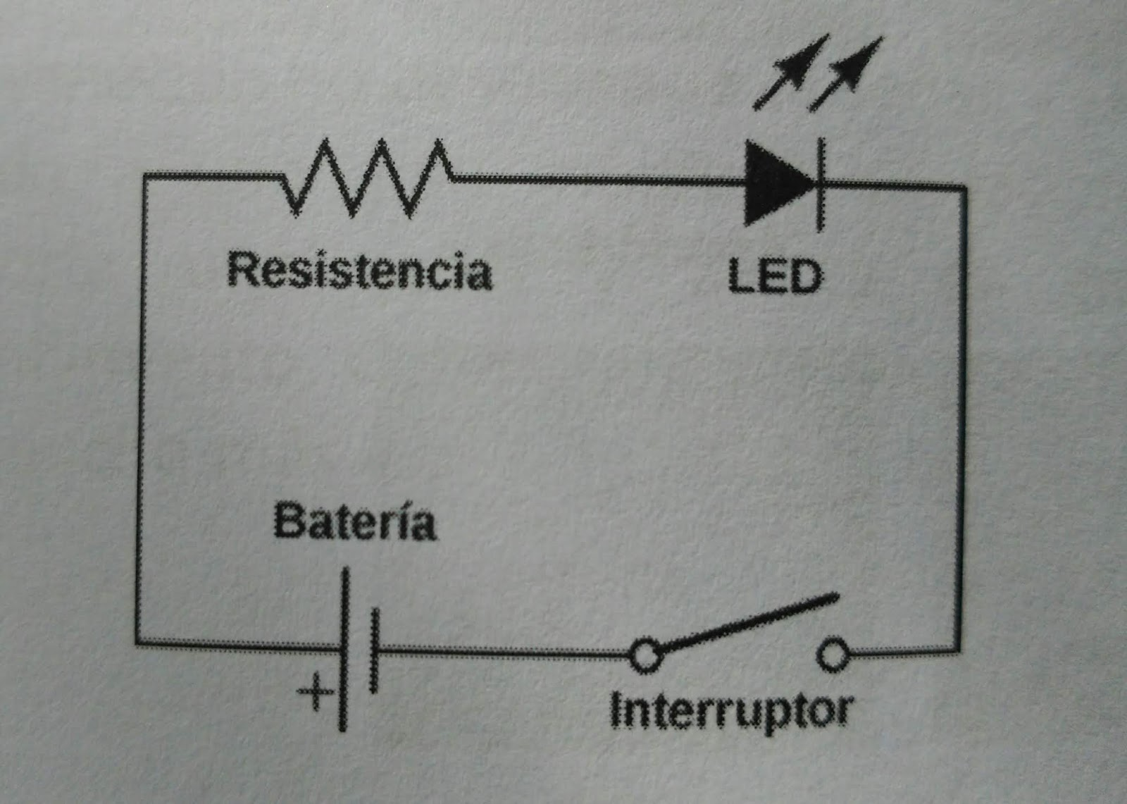 Circuito Electrico Simple Con Interruptor : ElectrobÓveda: arduino: 2. circuitos eléctricos básicos