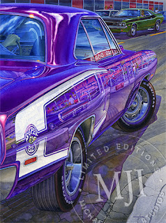 Mr. Norm Grand Spaulding Dodge painting
