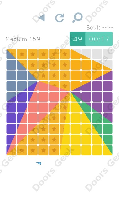 Cheats, Walkthrough for Blocks and Shapes Medium Level 159