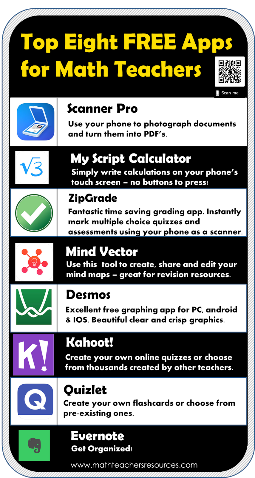 Some Great FREE Apps for Math Teachers ~ TenTors Math ...