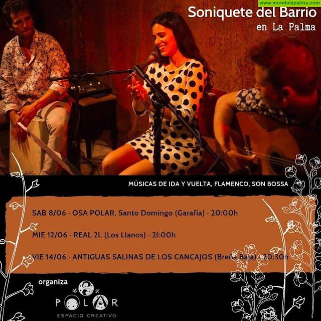 Soniquete del Barrio en La Palma