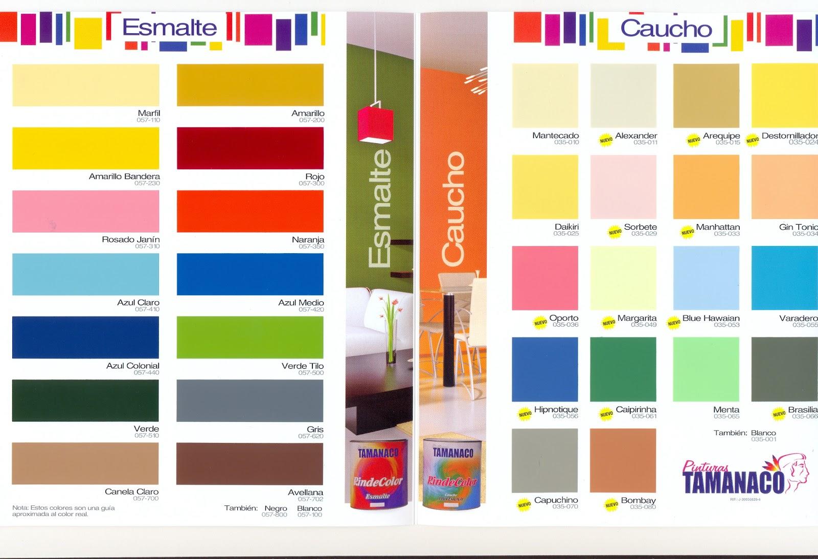 Metalpro c a carta de colores tamanaco 2012 - Catalogo pinturas bruguer ...