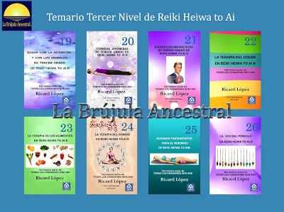 Temario Nivel III Reiki Heiwa to Ai