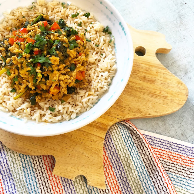 Indian Pork Mince Curry
