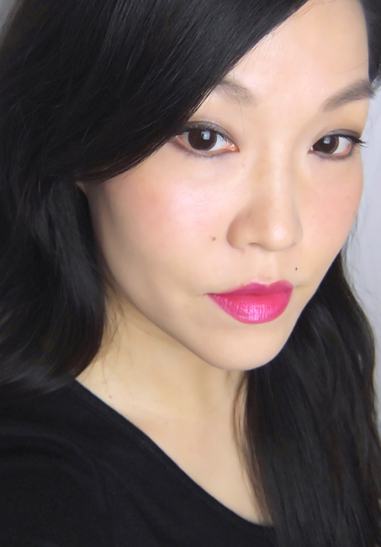 Revlon Ultra HD Lip Lacquer Pink Ruby FOTD