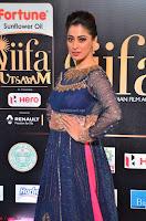 Raai Laxmi in Beautiful Backless Designer Anarkali Gown at IIFA Utsavam Awards 2017  Day 2  Exclusive 13.JPG