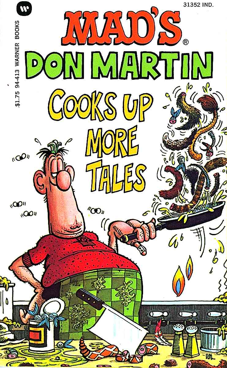 MAD's Don Martin cooks up more tails