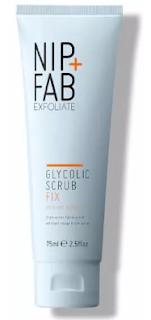 antiaging, cuidado de la piel, skincare, isol fernandez, piel, nip fab, scrub, exfoliante