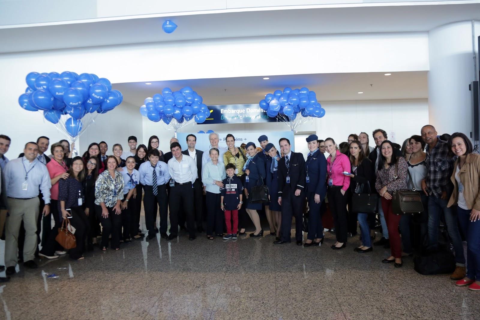 Azul completa oito anos com trabalho impecável de dez mil Tripulantes