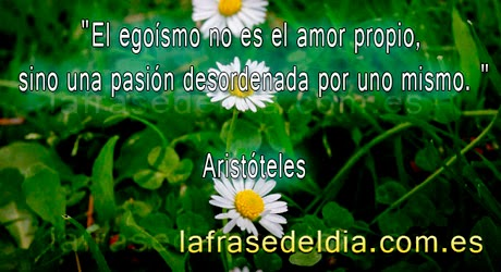 citas de Aristóteles